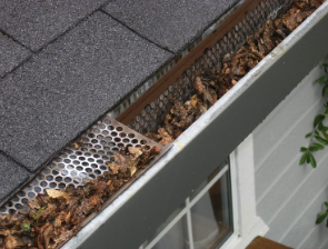 gutter cleaning tips home inspector Elk River MN